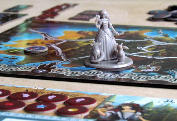 12 Realms - připravená hra