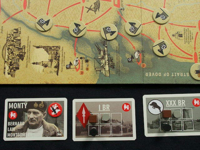 1944: Race to the Rhine - připravená hra