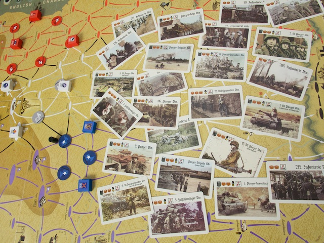1944: Race to the Rhine - karty