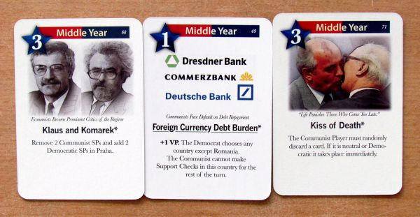 Photo: 1989: Dawn of Freedom - cards