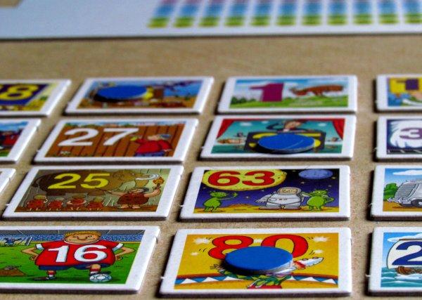 1x1 Bingo - rozehraná hra