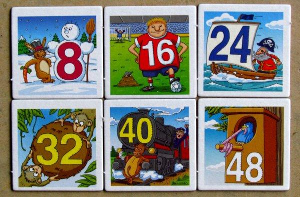 1x1 Bingo - dílky