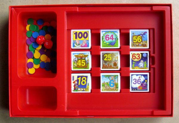 1x1 Bingo - krabice