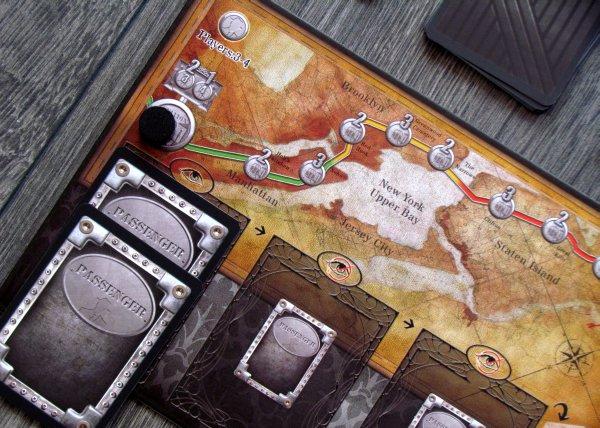 27th Passenger - rozehraná hra