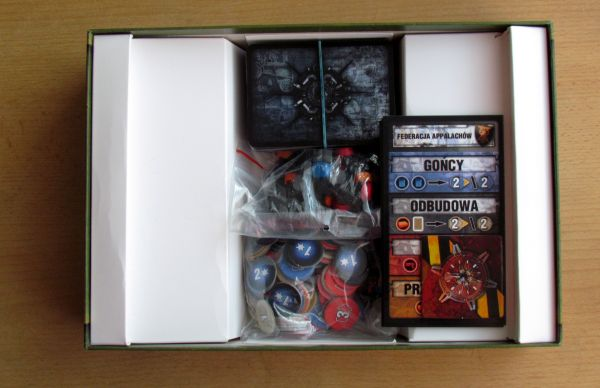 Board game review: The 51st State: New Era - box