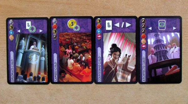 7 divů světa: Vůdci - karty