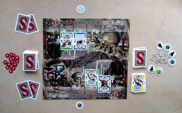 8 Masters Revenge - rozehraná hra