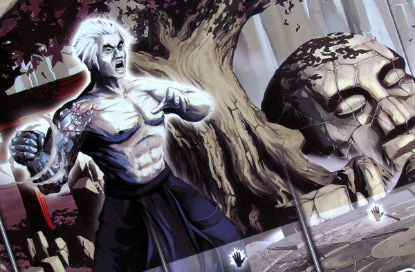 8 Masters Revenge - detail herní desky