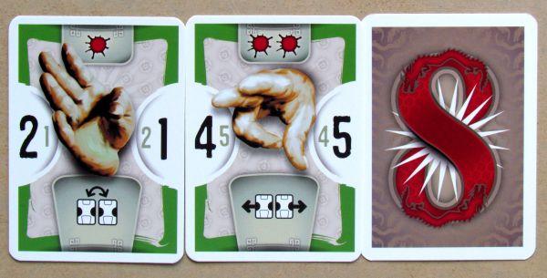 8 Masters Revenge - karty