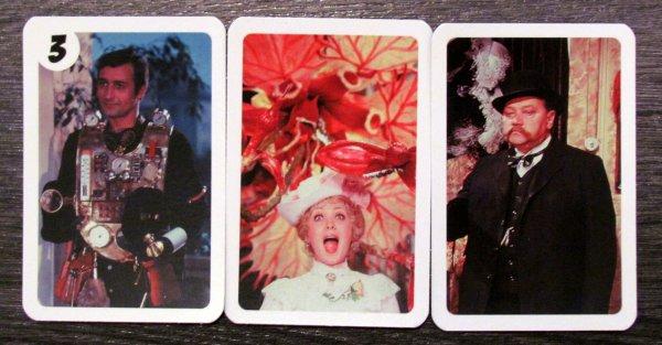 Adéla ještě nevečeřela - karty