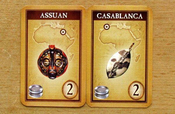 Afrika - karty