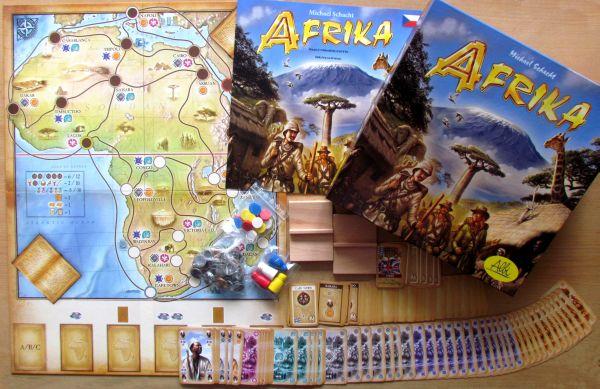 Afrika - balení