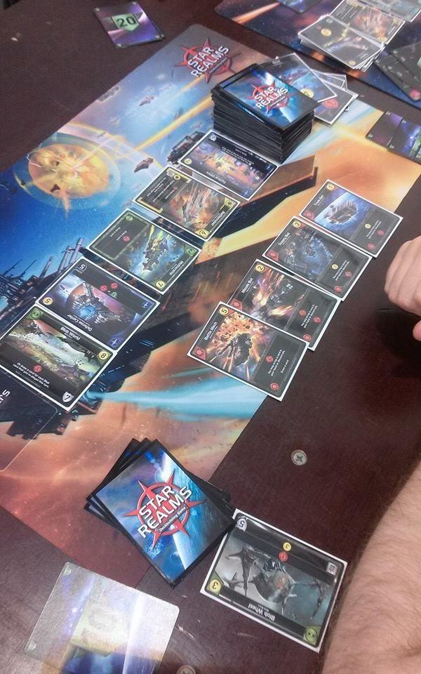 Star Realms - rozehraná hra