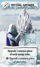 Ledová bytost - Tvůrce krystalů