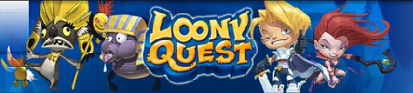 Loony Quest- baner