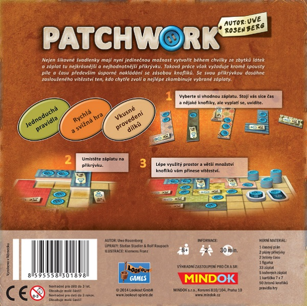 Patchwork - krabice