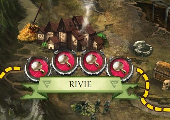 Zaklínač - herní plán - lokace