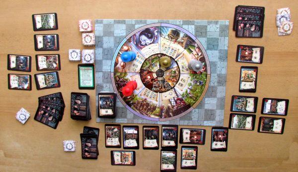 Alchemicus - rozehraná hra