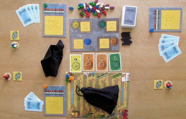 Alhambra Hodina zlodějů - připravená hra