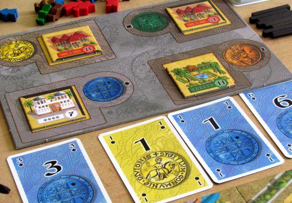 Alhambra Hodina zlodějů - rozehraná hra