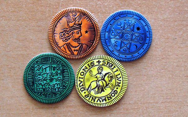 Alhambra Hodina zlodějů - žetony