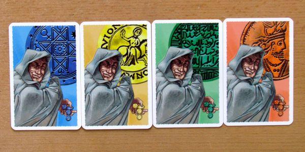 Alhambra Hodina zlodějů - karty