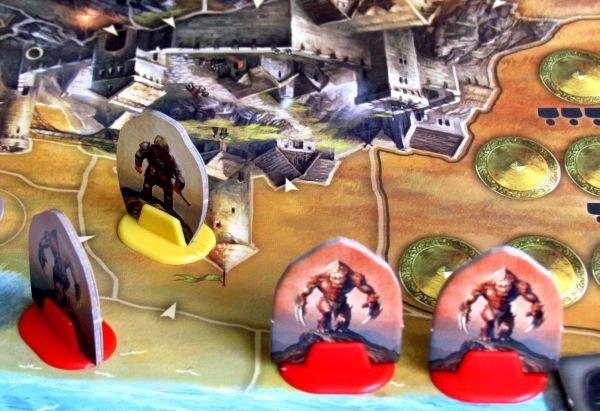 Andor: Dobrodružné legendy - připravená hra