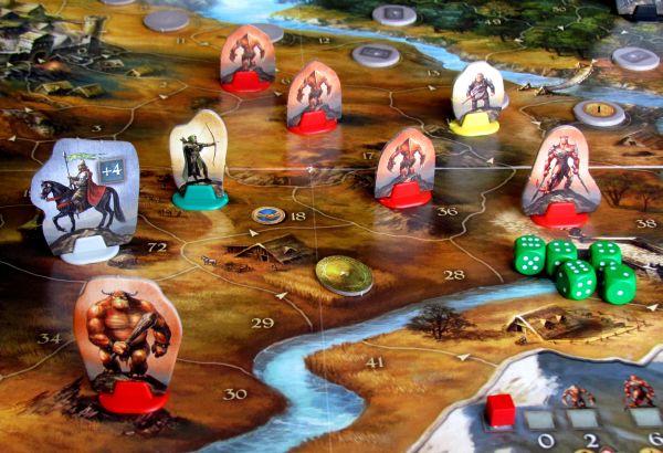Andor: Dobrodružné legendy - rozehraná hra