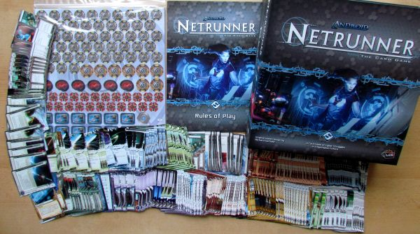 Android: Netrunner LCG - balení