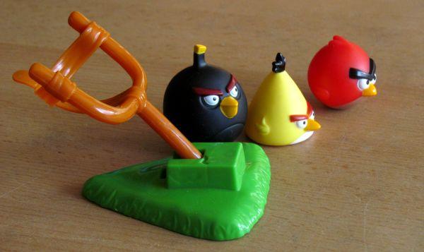 Angry Birds - připravená hra