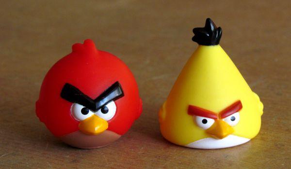 Angry Birds - figurky ptáčků
