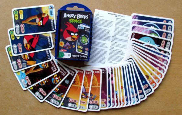 Angry Birds karetní hra - balení Space