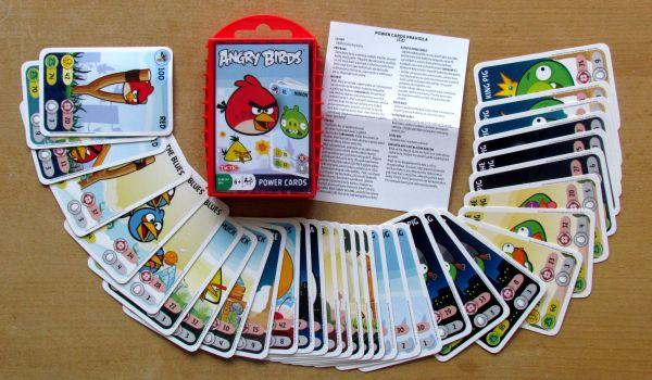 Angry Birds karetní hra - balení