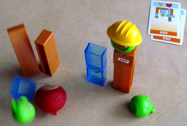 Angry Birds: Na tenkém ledě - rozehraná hra