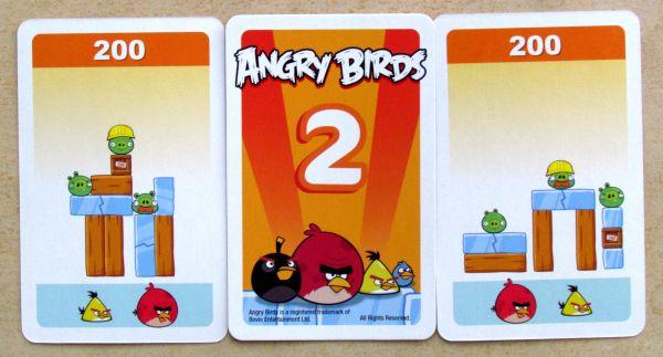 Angry Birds: Na tenkém ledě - karty