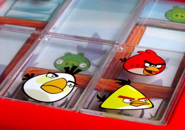 Angry Birds Playgrounds: Útok - připravený hlavolam