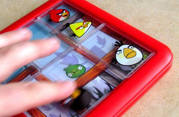 Angry Birds Playgrounds: Útok - průběh řešení