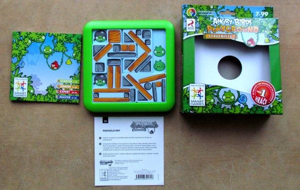 Angry Birds Playgrounds: Staveniště - balení