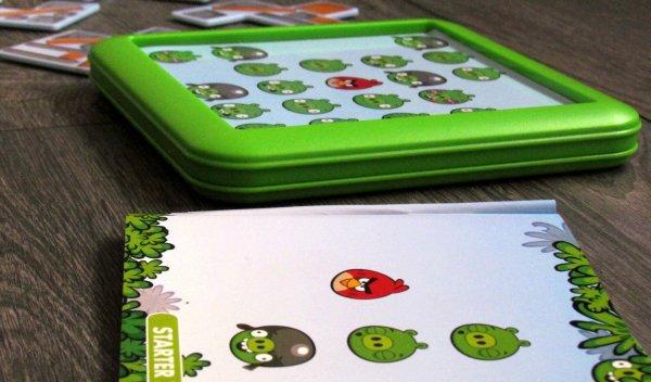 Angry Birds Playgrounds: Staveniště - připravený hlavolam