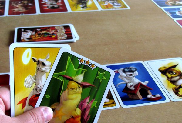 Animalia - rozehraná hra