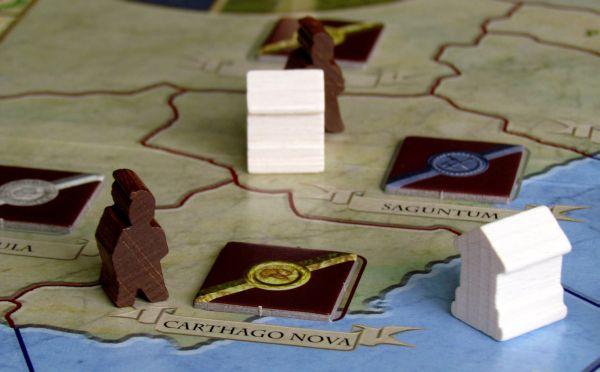 Antike Duellum - rozehraná hra