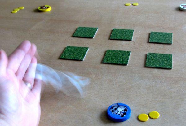 Aport - rozehraná hra