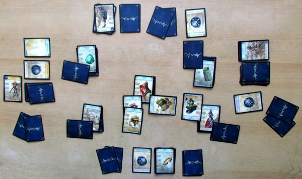 Arcana - rozehraná hra