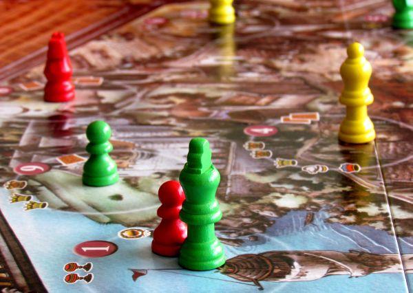 Arcanum - připravená hra