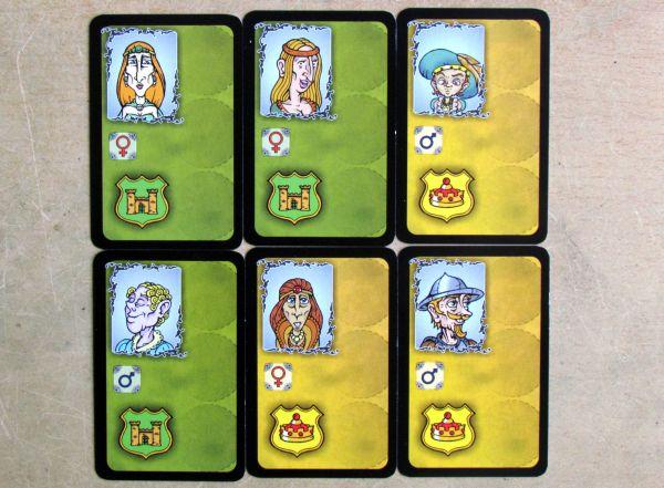 Aristoocrazy - karty
