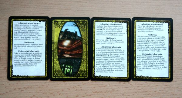 Arkham Horror - karty