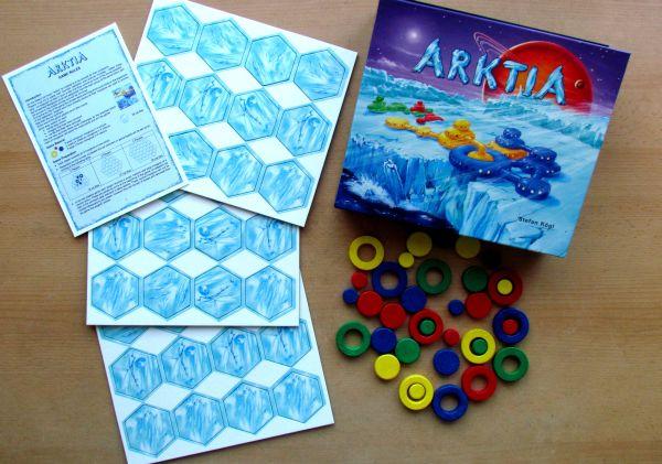 Arktia - packaging