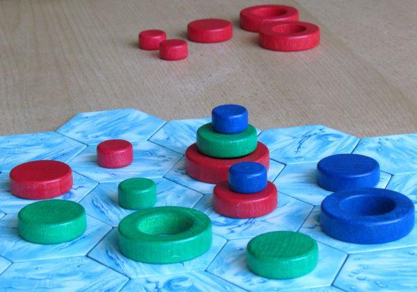 Arktia - game is underway