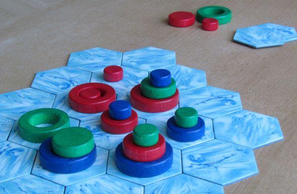 Arktia - rozehraná hra