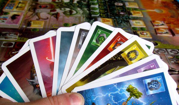 Asgard - připravená hra